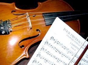 як влаштована скрипка