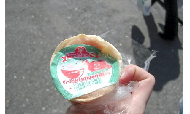 Яким було і скільки коштувало радянське морозиво: Тепер щодо морозива «Томатное», яке то пам'ятають, то не пам'ятають. Було таке - воно з'явилося в середині 70-х і складалося
