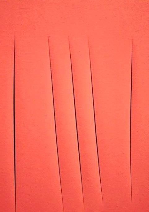 Картини за мільйони: «Просторова концепція» Лучо Фонтан - $ 1 500 000