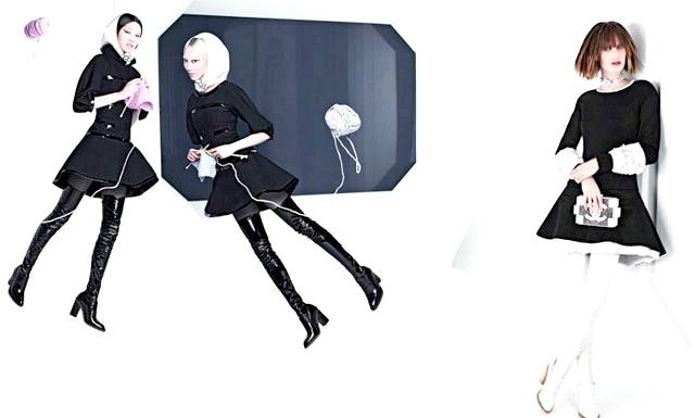 Космічна рекламна кампанія Chanel: Як виявилося, фантазія креативного директора Chanel Карла Лагерфельда не знає меж. І це стосується не тільки