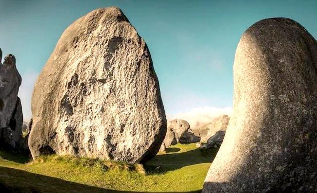Краса Новій Зеландії: Гори Касл Хілл (Castle Hill), Таунсвілл.