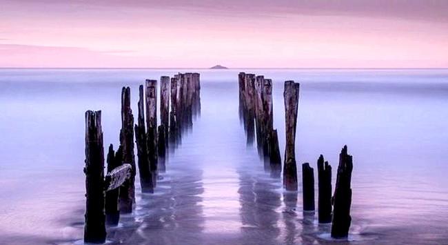 Краса Новій Зеландії: Озеро Ротойті, бухта Достатку в Національному парку Nelson Lakes.