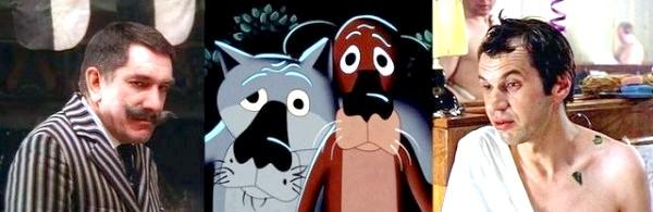 Хто озвучував улюблені мультфільми: «Жив-був пес», 1982 рік. Вовк - Армен Джигарханян, Пес - Георгій Бурков
