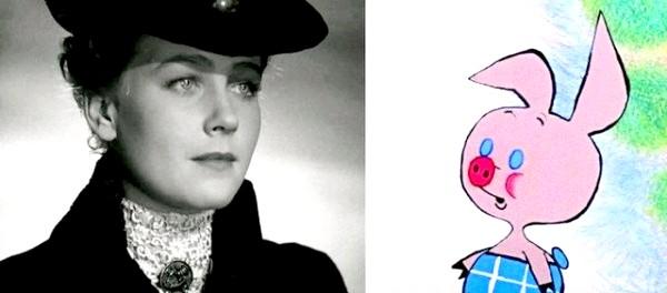 Хто озвучував улюблені мультфільми: «Вінні-Пух», 1969 рік. П'ятачок - Ія Саввіна