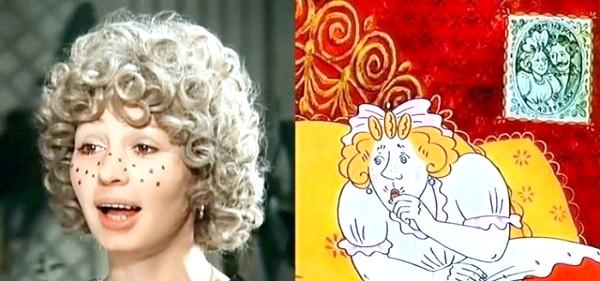 Хто озвучував улюблені мультфільми: «Чарівне кільце», 1979 рік. Улянка - Тетяна Васильєва