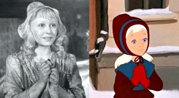 Хто озвучував улюблені мультфільми: «Снігова Королева», 1957 рік. Герда - Яніна Жеймо