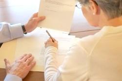 Складання договору про розподіл майна