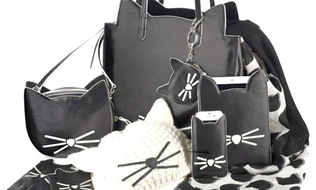 Лагерфельд випустив лінію аксесуарів на честь своєї кішки: Ніхто й подумати не міг, що кішка, подарована Лагерфельду французьким манекенником Батістом Джіабіконі в 2012, стане чи не найбільшою
