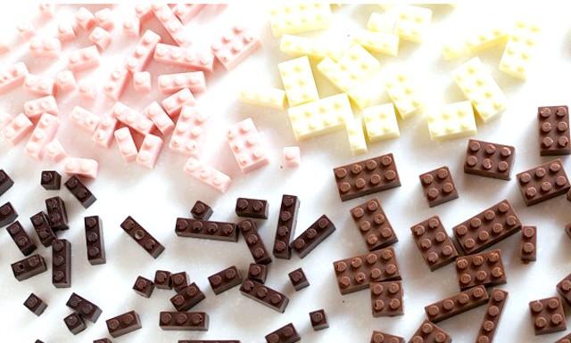 Lego з шоколаду: