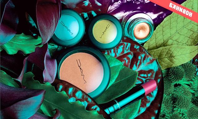 Лімітована колекція MAC Moody Blooms: Соковиті фіалки, п'янкий плющ і насичений паслін, палаючі яскравим світлом, виражені в тінях для очей глибоких природних відтінків з металевим