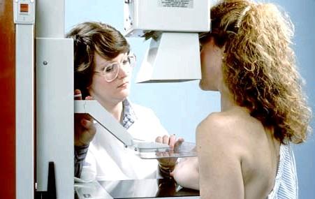 Мамографія: для чого потрібна і як робиться: Так робиться знімок молочної залози