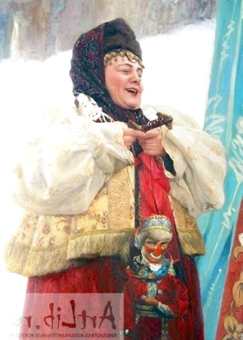 Масляна в живописі: [i] Кирилов Володимир Миколайович «Масляна» [/ i]