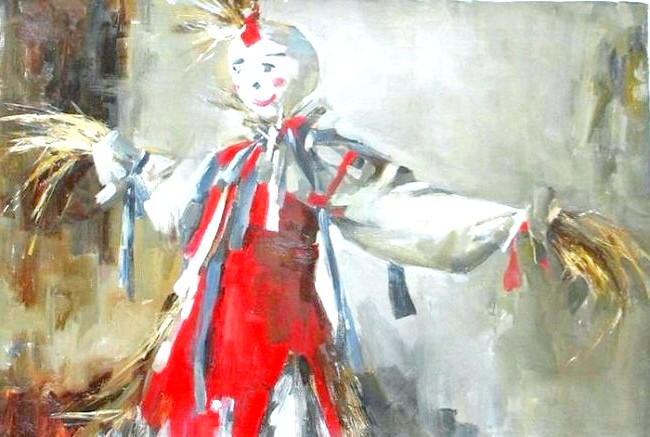 Масляна в живописі: [i] Швецова Анастасія «Масляна» [/ i]