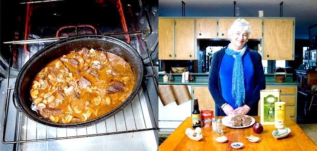 Світові бабусі: Вайтхорс, Канада. Бабуся: Кеті О'Донован, 64 роки. Блюдо: «бізон під опівнічним сонцем».