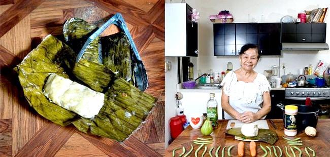 Світові бабусі: Веракрус, Мексика. Бабуся: Лаура Ронс Еррера, 81 рік. Блюдо: овочевий тамале.