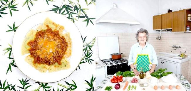 Світові бабусі: Кастільйон-Фьорентіно, Італія. Бабуся: Маріса Батіна, 80 років. Блюдо: равіолі з листової буряком і рікоттою.