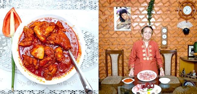 Світові бабусі: Мумбаї, Індія. Бабуся: Грейс Естіберо, 82 роки. Блюдо: курячий віндалу.