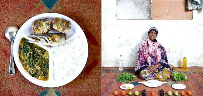 Світові бабусі: Бубубу, Занзібар. Бабуся: Мірайі Мусса Кхейр, 56 років. Блюдо: вали, мчузіна мбогамбога (рис, риба і овочі в мангового соусі)