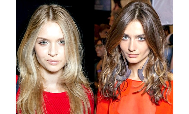 Модні зачіски весна-літо 2013: Розпущене волосся: самий природний і простий приклад зачіски нового сезону - пишні кучеряве волосся. Це завжди виглядає привабливо і природно.