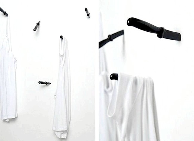Незвичайні ідеї для дому: А решту одягу можна повісити на ніч сюди