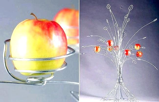 Незвичайні ідеї для дому: Де свіжі яблука ростуть на металевому дереві