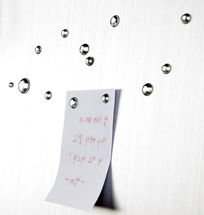 Незвичайні ідеї для дому: А записки на холодильник кріпити краплями
