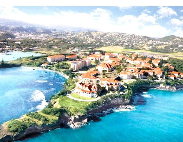Незвичайні карибські курорти: ГренадаУніверсітет в столиці Гренади Сент-Джорджес.