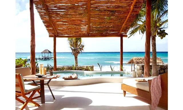 Незвичайні карибські курорти: Viceroy Riviera Maya, МексікаНікто не звинуватить курорт Viceroy Riviera Maya в забутті спадщини майя. Після прибуття