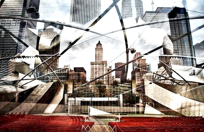 Нереальна реальність Ніколя Рюеля: Чикаго. «Мій підхід до фотографії заснований на дизайні та архітектурі. Структурування та розбалансування цих елементів лежать в основі