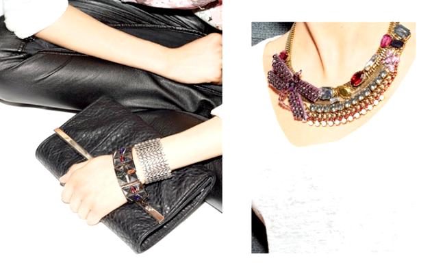 Нова колекція аксесуарів від Parfois: Grunge виражається в металевих ланцюгах, взуття в стилі мілітарі, хутряної обробці і картатих принтах. Біжутерія Grunge створена з використанням клепок,