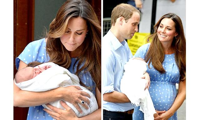 Новонародженого принца Кембриджського показали світові: Новонародженого принца і його батьків у госпіталі вже встигли відвідати батьки Кейт Міддлтон. Трохи пізніше до лікарні Святої Марії прибув