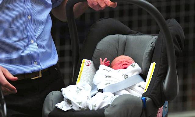 Новонародженого принца Кембриджського показали світові: Обговорення теми: