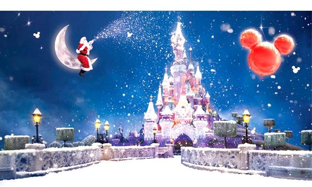 Новий рік в Парижі: врятувати світ від ордена тамплієрів: 3. Disneyland Ніколи не пізно зануритися в казкову магію Disneyland. Особливо прекрасно вперше там опинитися