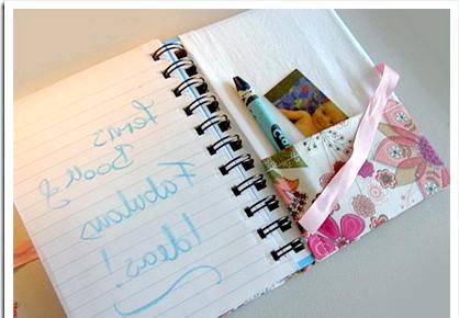 Обкладинка для блокнота (книги): І такий блокнот може прослужити вам довше ніж блокнот в паперовому палітурці.