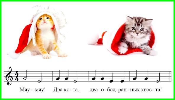 п'єса для фортепіано два кота