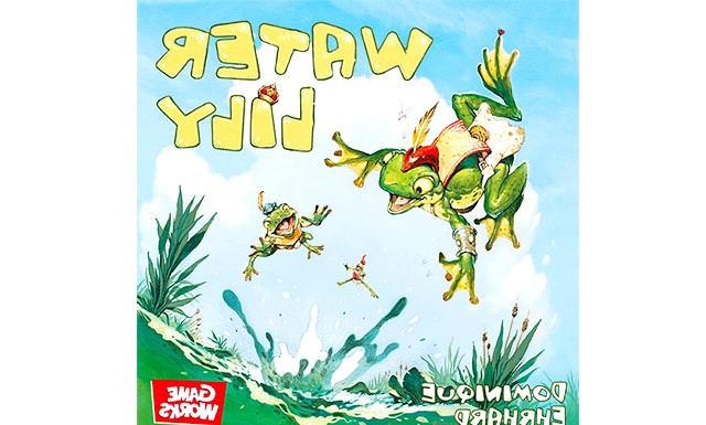 Огляд дитячих настільних ігор: Водяна лілія (від 7 років) Забавна жаб'яча гонка розвиває пам'ять (треба тримати в голові постійно змінюється приховану