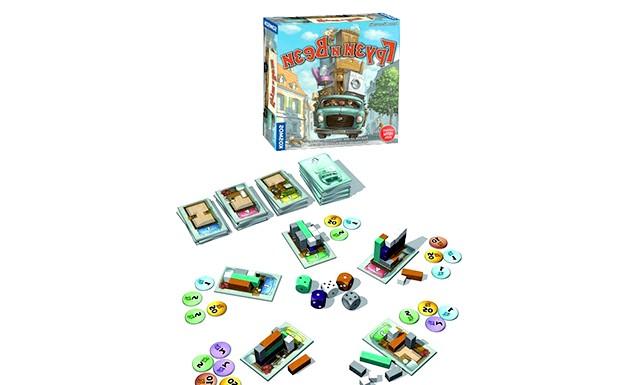 Огляд дитячих настільних ігор: Вантаж і вези (від 7-ми років) Суть настільної гри Вантаж і Вези полягає в оптимальному розміщенні вантажу (дерев'яних