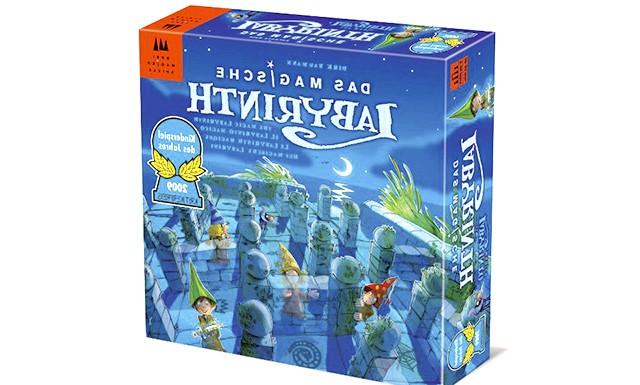 Огляд дитячих настільних ігор: Магічний лабіринт (від 6-ти років) Гра представляє з себе двох-ярусні споруда, що складається з «підземного лабіринту» і знаходиться зверху «поля
