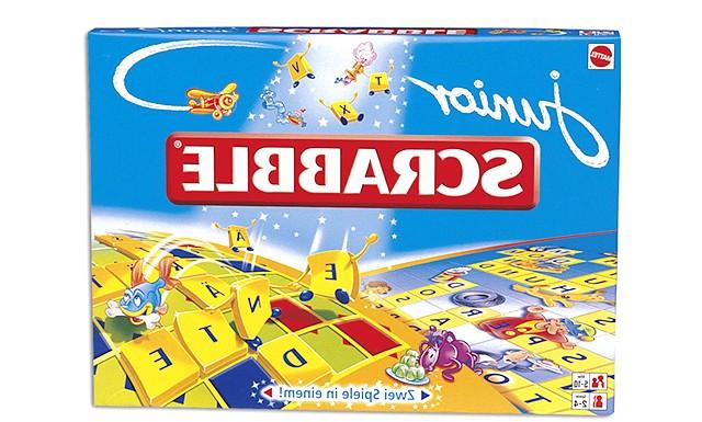 Огляд дитячих настільних ігор: Скрабл (Scrabble Junior) Створена спеціально для дітей. Фактично вона складається з двох ігор для різних віків: більш барвиста