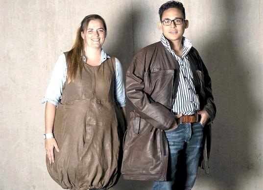 Одяг з секретом для авіапасажирів: Це своєрідна куртка-трансформер, яка може вмістити до 10 кілограмів будь-яких речей. Після того, як ви пройдете контроль багажу і будете