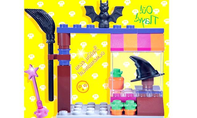 Жовтневий номер журналу «LEGO Friends»: Крім того: Два коміксу про пригоди подружок зі світу LEGO Friends: В магазині