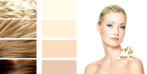 Визнач свій кольоротип: ВЕСНАКожа: здається прозорою з легкої золотистої підсвічуванням зсередини. Але навіть якщо шкіра темна вона все одно