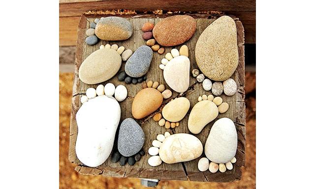 Оригінальні ідеї для використання натурального каменю: Мозаїка своїми руками