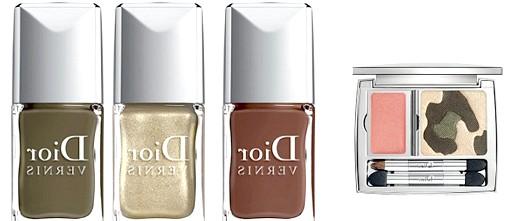 Осінні тенденції модних будинків: Для вечірнього smokyeyes-макіяжу Dior представив тіні Khaki Reflections 5 Couleurs Designer, що складаються з п'яти мерехтливих і матових відтінків, і трійку