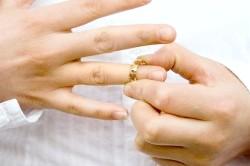Розірвання шлюбу без одного чоловіка