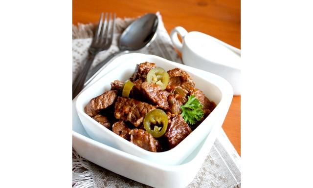 Гостре рагу з яловичини: