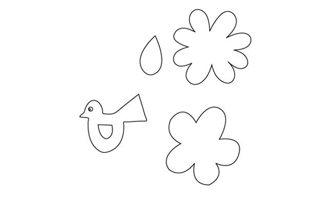 Листівка на 8 березня. Робимо разом з дітьми: Крок 1. Для роботи спочатку Вам необхідно скачати і роздрукувати наступний шаблон, за допомогою якого Ви зможете вирізати