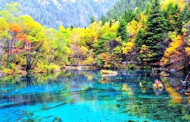 Озеро П'яти квітів - краса, яку рідко зустрінеш: Особливість