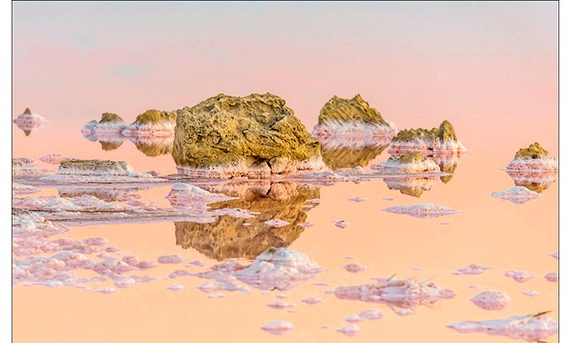 Ширяють острова Кояського озера: