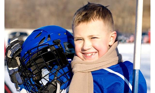 Парк Горького запрошує в хокейну школу для дітей: